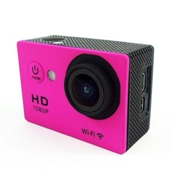 Winliner ACC-R-19 Waterproof Sport Action Camera (Red) - intl