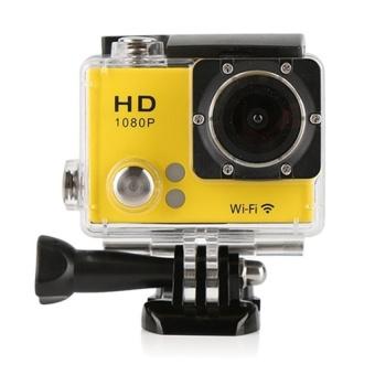 Winliner ACC-Y-14 G2 Waterproof Sport Action Camera (Yellow) - intl