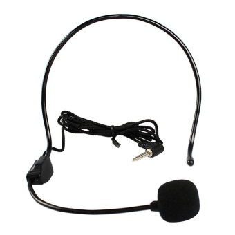 Wired Hands Free Headset Microphone Mic system Megaphone Speaker Teacher - intl