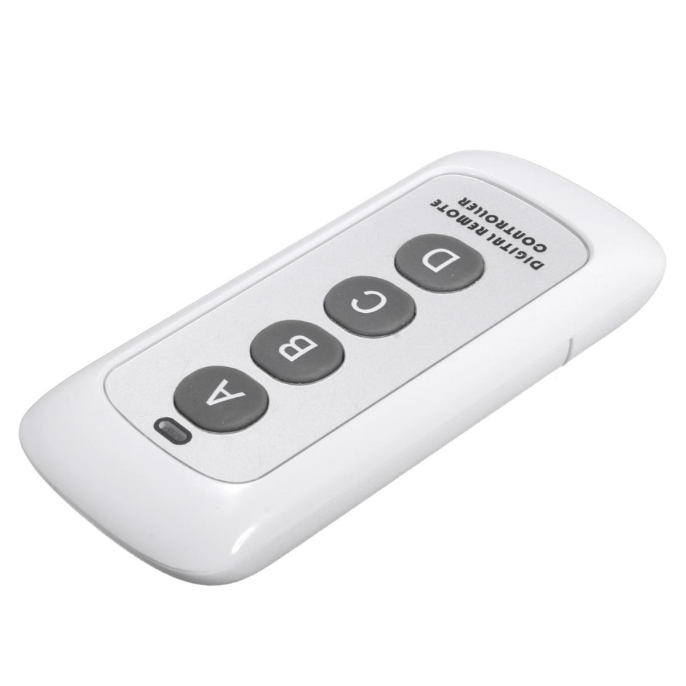 ... Wireless remote control / transmitter RF frequency 433MHz intelligent switch control remote remote control - intl ...