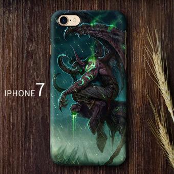 Jual World of Warcraft iphone7/7Plus kepribadian baru Apple permainan cangkang keras shell telepon Murah