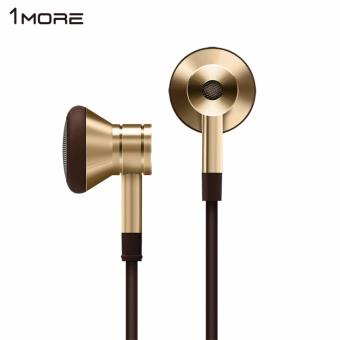 Xiaomi 1More Piston Pod V3 In-Ear Earphone Headset with Remote Mic - Original - Gold