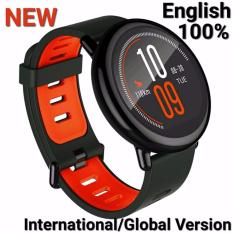 Xiaomi Amazfit Smartwatch International Version with GPS and Heart Rate Sensor - 100% English -Model No. A1612 -Black