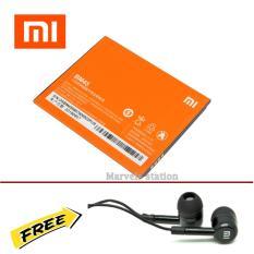 Xiaomi Baterai BM45 [3020 mAh] For Redmi Note 2 + Free Handsfree Hifi - Original