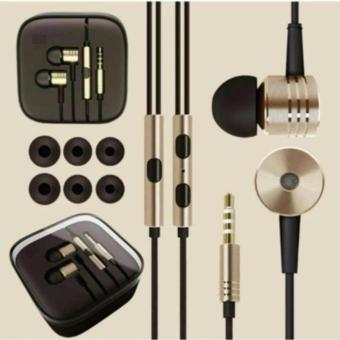 Xiaomi Earphone Big Bass Piston Mi 2nd Generation Handsfree/Headset - Gold
