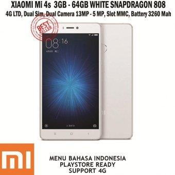 harga Xiaomi Mi 4S - 64GB - Putih Lazada.co.id