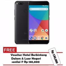 Xiaomi Mi A1 Black Android One - 64GB - GARANSI RESMI TAM + Gratis Voucher Hotel