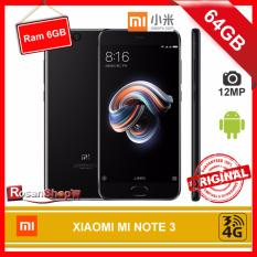 XIAOMI MI NOTE 3 64GB RAM 6GB 12MP - GARANSI 1THN - ORIGINAL 100%