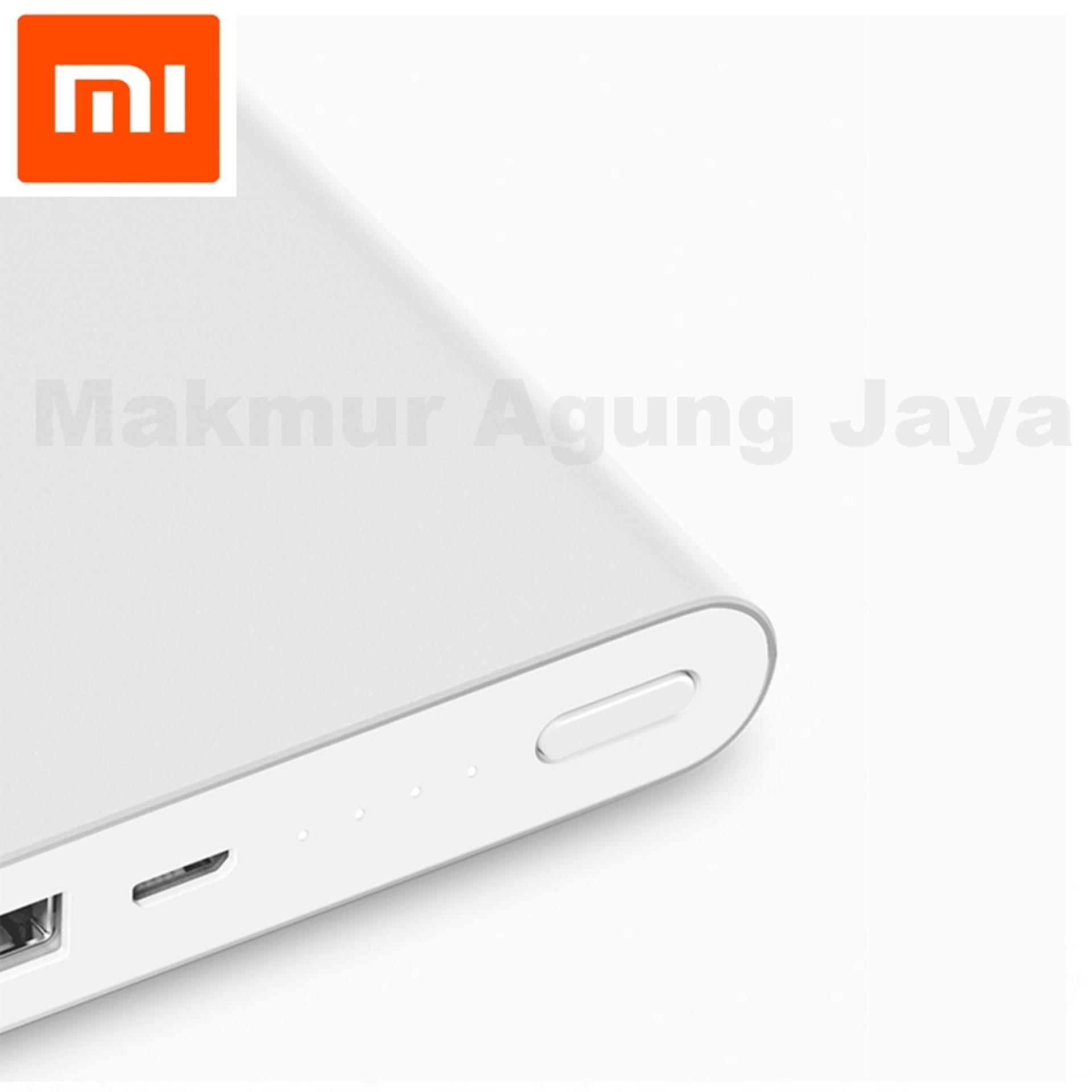Diskon Penjualan Xiaomi Mi Power Bank 10000mah Slim Original White Powerbank 10000ma Putih Silver Free Usb Type