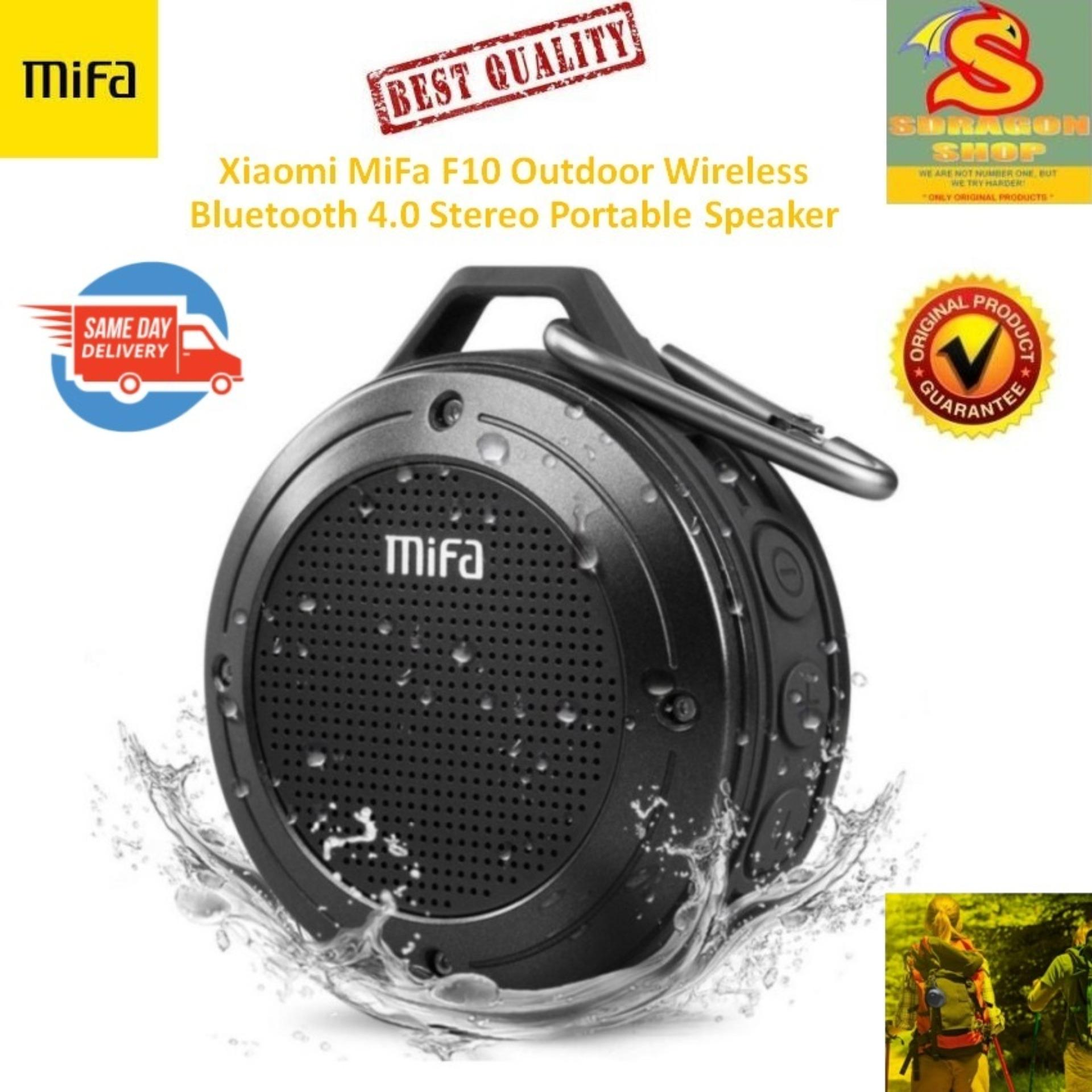 Xiaomi MiFa F10 Outdoor Wireless Bluetooth 4.0 Stereo Portable Speaker Built-in Mic Shock Resistance