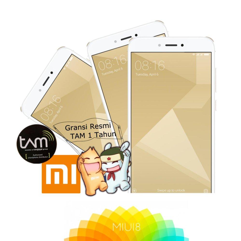 Belanja Terbaik Xiaomi Redmi 4x 3 32gb Gold Fingerprint Snapdragon Prime Garansi Resmi Tam 1 Tahun 435 4100mah Batrrey