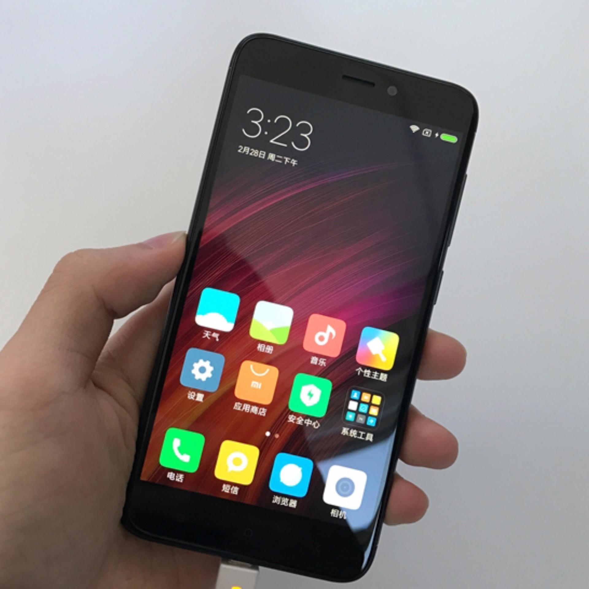 Online Murah Xiaomi Redmi 4x Garansi Resmi Distributor 1 Tahun Note 4 64gb Gold Thn