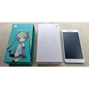 Xiaomi Redmi Note 4x Snapdragon Ram 3 GB Rom 32 Limited Edition Hatsune Miku