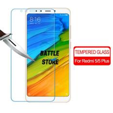 Xiaomi Redmi Note 5 / Xiaomi Redmi 5 Plus Screen Protector Tempered Glass / Anti Gores Kaca - White Clear