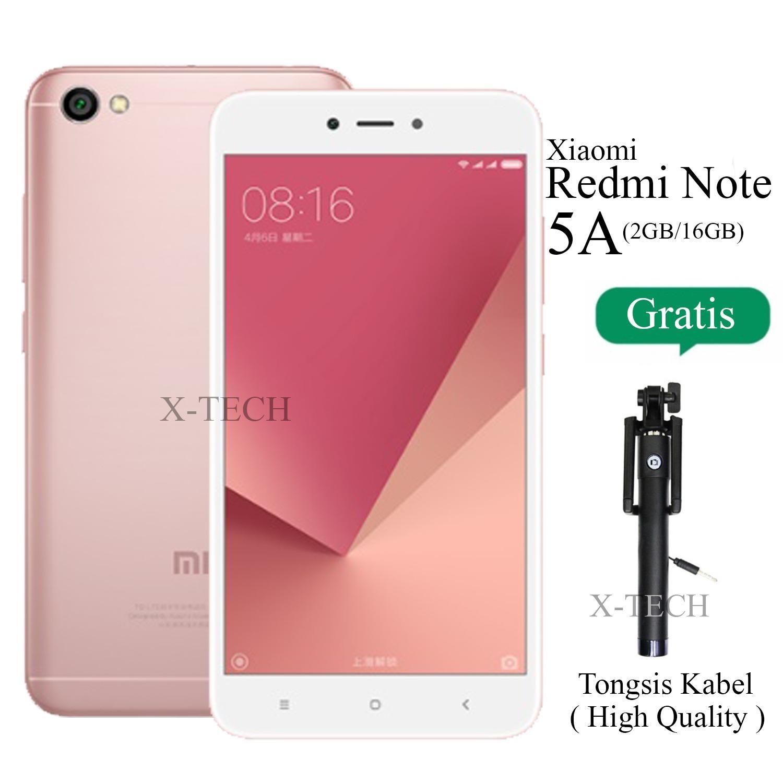 Xiaomi Redmi Note 5A - Ram 2GB - Rom 16GB - 4G LTE - Layar 5.5\