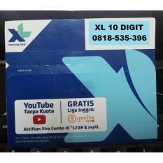 XL 0818 535 396 - Nomor Cantik Perdana XL 10 Digit