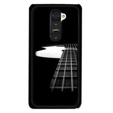 Y & M Hitam Gitar Handphone LG G2 (Aneka Warna)