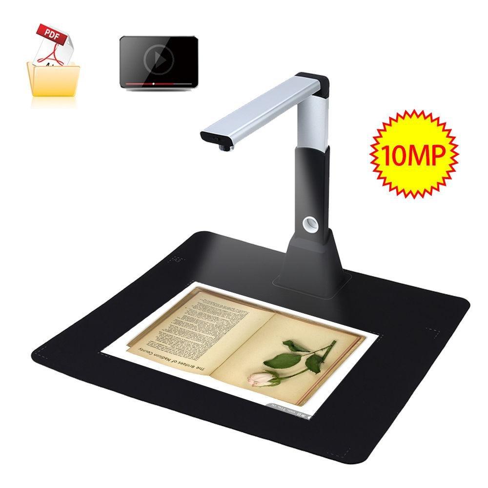 ... YACGroup H1000 MINI USB Overhead Document Camera Book Scanner A3 A4A5 10Mega 3672*2856 Photo ...