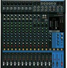 yamaha amplifier. yamaha mixer mg 16xu ( 16 channel ) amplifier a
