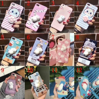 YBC Squishy 3D Soft Silicone TPU Phone Case Cover For iPhone 7 - intl