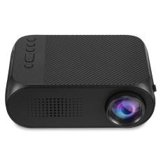 YG320 Mini Portable Projector 400 - 600 Lumens 320 x 240P Support 1080P(UK plug) - intl