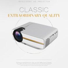 YG400 Mini LED Proyektor Portable Home Theater Projector 800x480 Dukungan 1080 P USB HDMI AV VGA SD- UK Plug-Intl