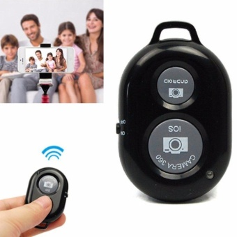 Yika Bluetooth Remote Control Camera Selfie Shutter Stick foriPhone Android Phones - intl