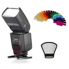YongNuo YN-560 IV Flash Speedlite for Canon Nikon Pentax Olympus DSLR Cameras +  Color Filter Gels Band