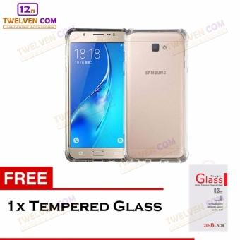 Diskon Zenblade Anti Shock Anti Crack Softcase Casing for Samsung J5 Prime - Free Tempered Glass Harga Diskon RP 17.500 Beli Sekarang !!!