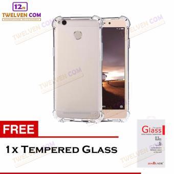 Zenblade Anti Shock Anti Crack Softcase Casing for Xiaomi Redmi 3 Pro / Redmi 3s - Free Tempered Glass