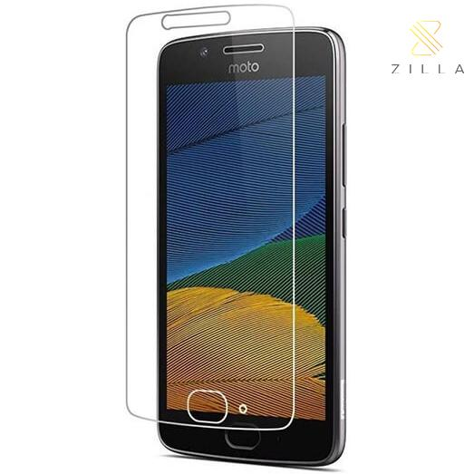 ... Zilla 2.5D Tempered Glass Curved Edge 9H 0.26mm for Motorola Moto G5 Plus ...