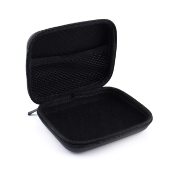 Zip ke USB EVA Case bawaan tas kantong untuk 6,35 cm HDD harddisk cakram PC jk GPS (hitam) - International - 3