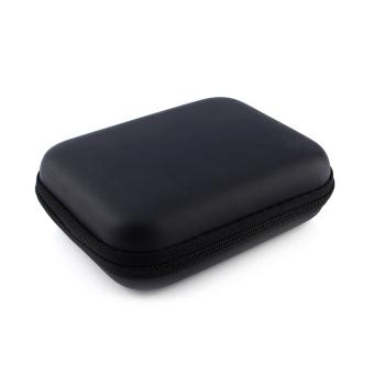 Zip ke USB EVA Case bawaan tas kantong untuk 6,35 cm HDD harddisk cakram PC jk GPS (hitam) - International - 2
