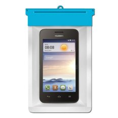 Zoe Huawei Ascend Y330 Waterproof Bag Case - Biru