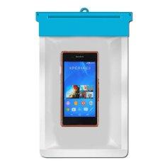 Zoe Sony Xperia E3 Dual D2212 Waterproof Bag Case - Biru