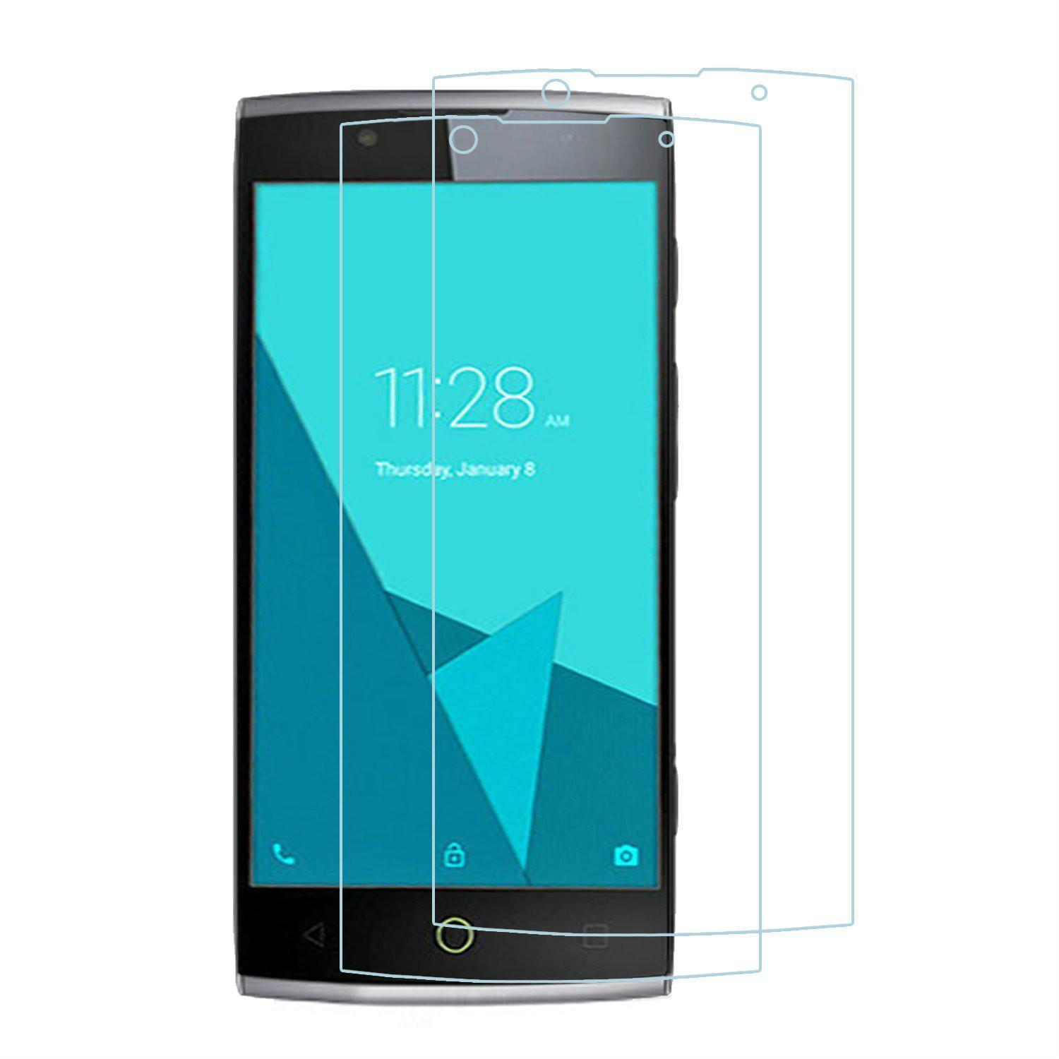 Zoeirc 9H HD Clear Tempered Glass Screen Protector Film For AlcatelOne Touch Flash .
