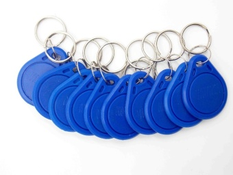 10 Pcs/lot New Proximity ID Token Tag Key Fob 125Khz RFID PlasticWater Resist Access Control Use sensor - intl
