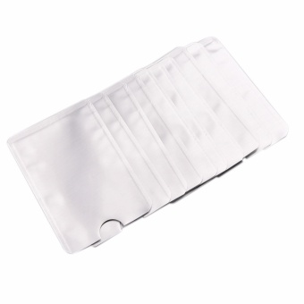 10x For RFID Secure Protector Blocking ID Credit Card SleevesHolder Skin - intl - 2