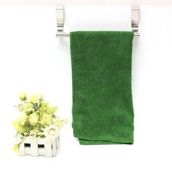 2 buah kamar mandi dapur pintu lemari laci dudukan syal gantunganhanduk kait 23 cm - International