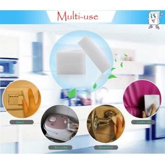 20PCS Magic Sponge Eraser Cleaning Melamine Multi-functional FoamCleaner - intl -