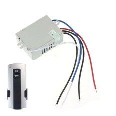 220 V Nirkabel 1Way Light Remote Control Switch ON/OFF Anti Gangguan-Intl