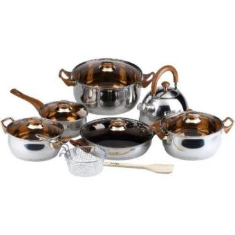 354 Oxone Peralatan Masak OX-933 / Cookware Set 8 in 1
