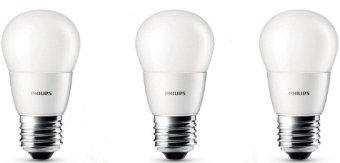 3pcs Lampu Bohlam LED Philips 4w/watt - 40watt Putih