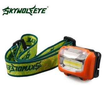 3W Mini Headlight 300Lumens LED Headlamp Flashlight Lamp Head TorchCamping - intl - 4