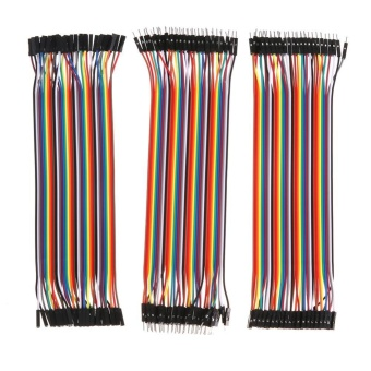 40pin Dupont Jumper Male/Female to Female/Male Raspberry Pi Separable Cable - intl