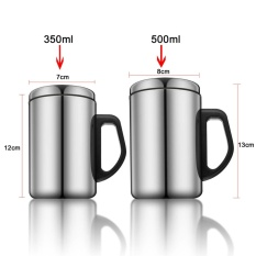 555 SA Gelas Vacuum Cup Stainless Steel - 500 mL