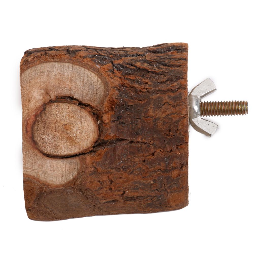 6 cm tupai kayu sangkar burung nuri bertengger platform mainanburung pet STAN