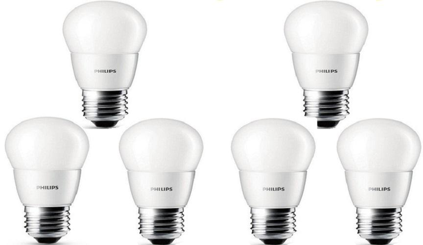 Siplite Cahaya Terang Bohlam Lampu Led Globe 90Mm S-12 Watt Putih X 3 Pcs