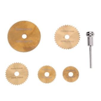 6pcs Mini Circular Saw Blades For Dremel Metal Rotary Cutter