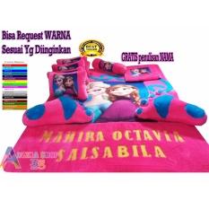 adzkia35 kasur karpet karakter frozen standart